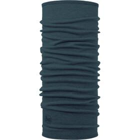 Buff Midweight Merino Wool Neck Tube dusty blue melange